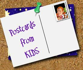 Postcards from kids