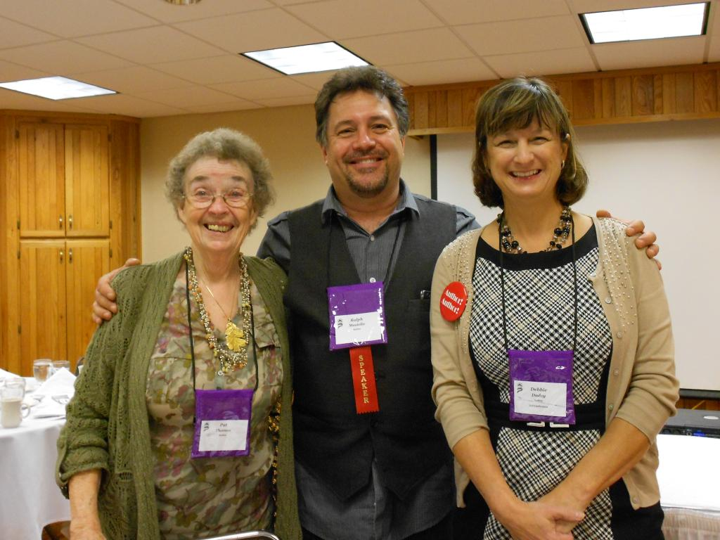 Debbie and fellow writers at KSRA 2012