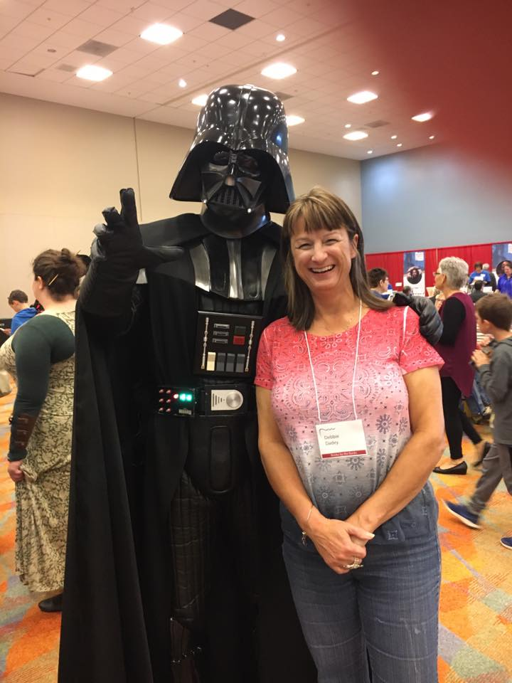 Debbie and Darth Vader