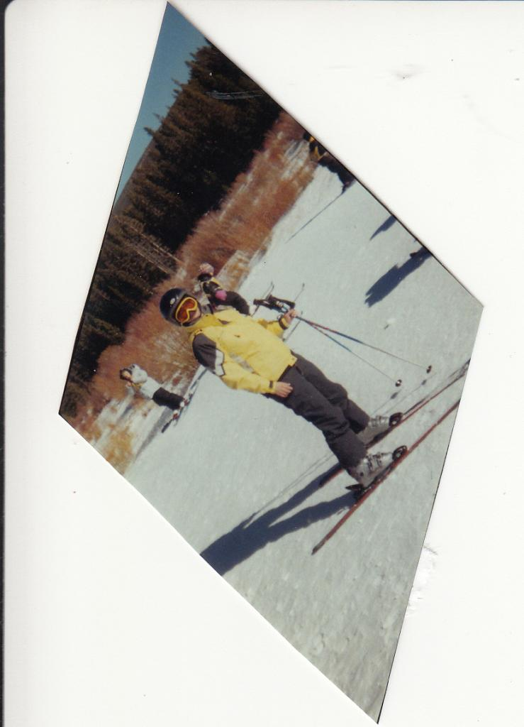 Debbie skiing in Colorado