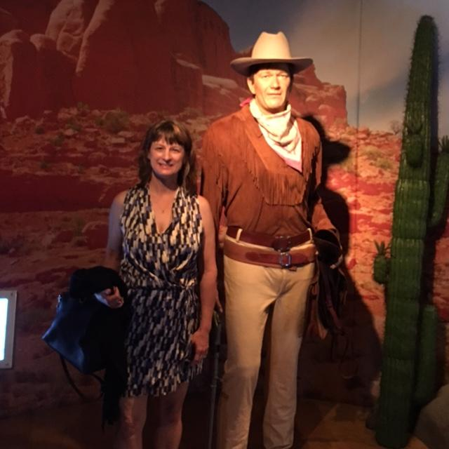 Debbie and John Wayne