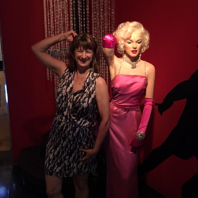 Debbie and Marilyn Monroe