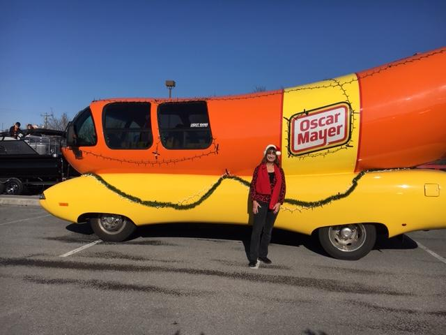 Debbie and the Weinermobile