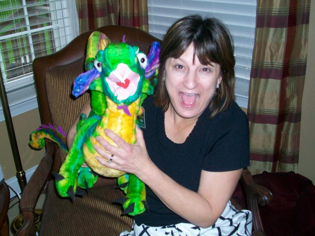 Debbie and dragon prize