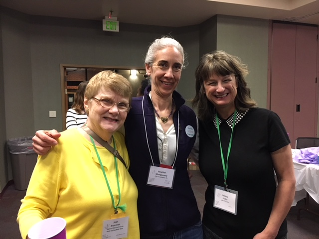 Joan Broerman, Heather Montgomery and Debbie