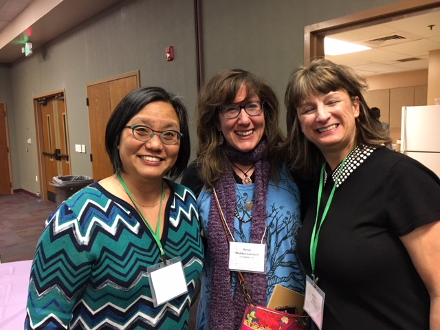 Linda Sue Park, Kerry Madden-Lunsford, and Debbie