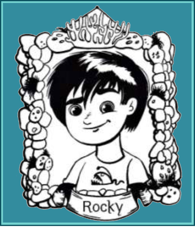 Meet Rocky Ridge - Mermaid Tailes book series by Debbie Dadey, reluctant readers children's author