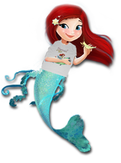 Mermaid Tales Book Series by Debbie Dadey, Mermaid Tales T-shirt featuring
