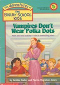 Vampires Don't Wear Polka Dots orignial cover