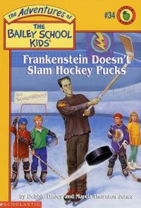 Frankenstein Doesn't Slam Hockey Pucks