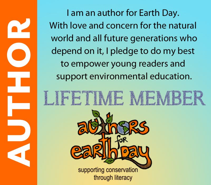 Lifetime Member of Authors for Earth Day