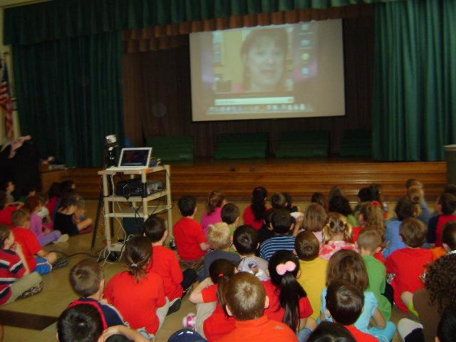 Debbie Dadey videoconference