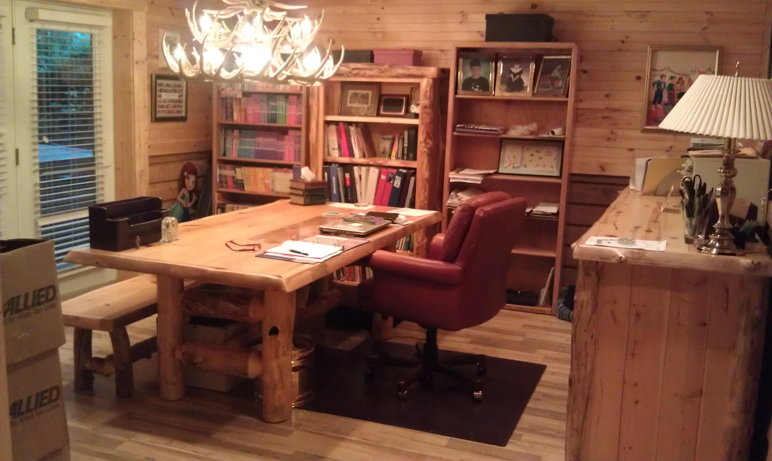 Debbie's new office