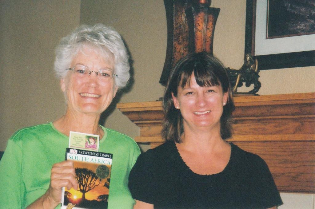 Debbie and Linda Osmundson