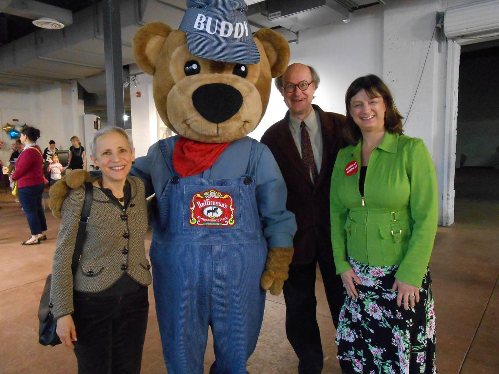 Gail Carson Levine, Bear, James Warhola, and Debbie