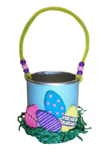 Egg Basket Craft Photo