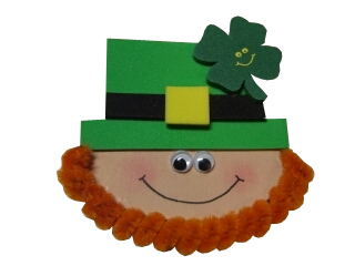 Photo of the Leprechaun Pin