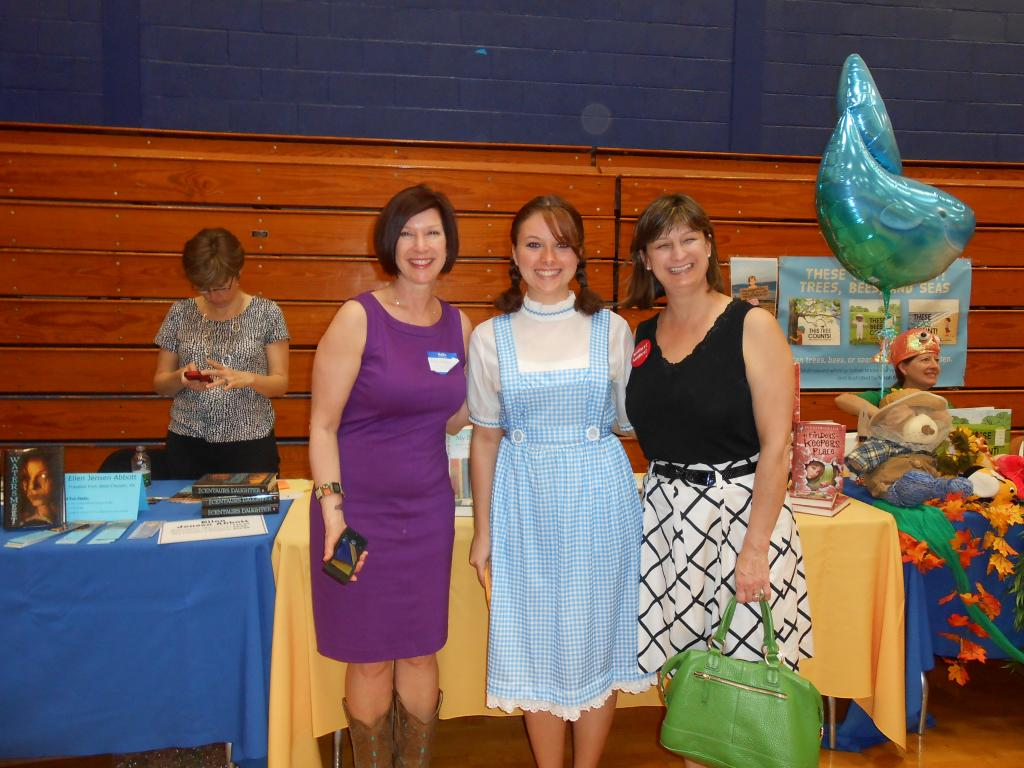 Ann Haywood Leaf, Dorothy from the Wizard of Oz, and Debbie