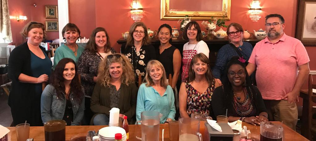 Presenters at the 2018 SCBWI Midsouth conference