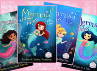 The Mermaid Tales by Debbie Dadey is published by Simon and Schuster